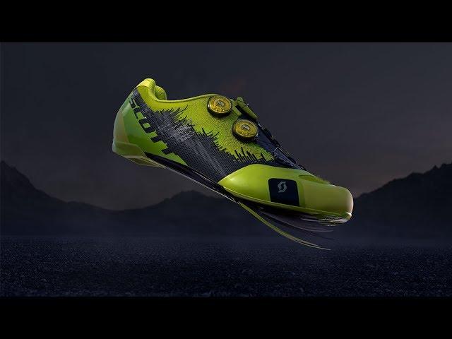 Видео Велотуфли Scott MTB RC SL (Sulphur Yellow/Black)