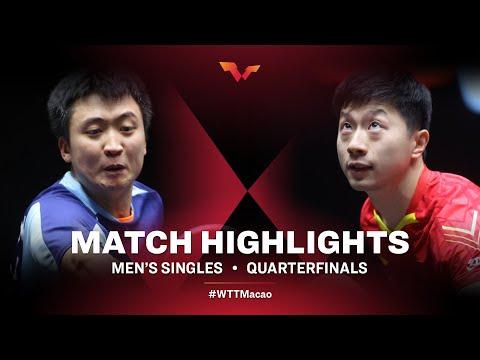 Jeoung Youngsik v Ma Long | WTT Macao Quarterfinals HIGHLIGHTS
