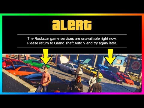 Rockstar Game Services are Unavailable - смотреть онлайн на Hah Life