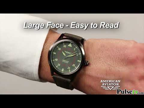 American Aviator Watch - As Seen on TV - Makes a Great Gift!