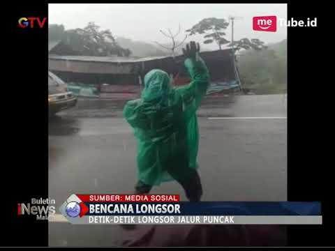 Ngeri!! Detik-Detik Longsor Puncak Bogor - BIM 05/02