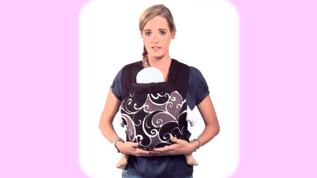Portabebés. Llevar al bebé en un Mei Tai
