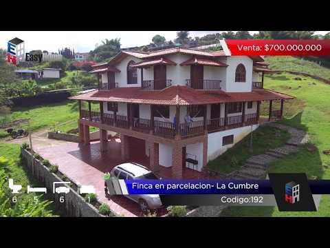 Fincas y Casas Campestres, Venta, La Cumbre - $700.000.000