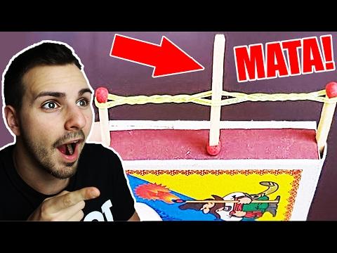 CON ESTO PUEDO MATAR A ALGUIEN !!! - 7 Simples Life Hacks (y con condones tambien)