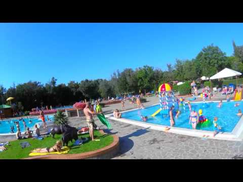 A Day at Camping Village Montescudaio