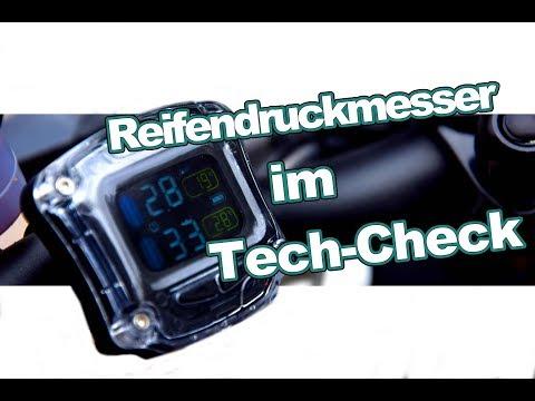 Reifendruckmesser Motorrad im Tech-Check - Immer den richtigen Druck !?!?