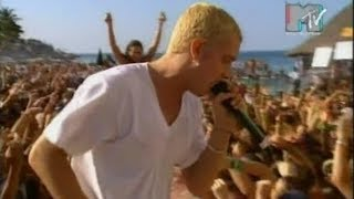 Eminem - My Name Is Live at MTV, Spring Break 1999 [RARE VIDEO]