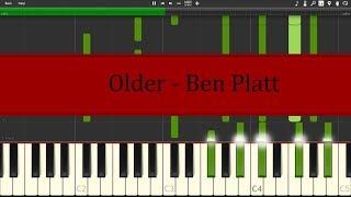 Older   Ben Platt Synthesia Tutorial