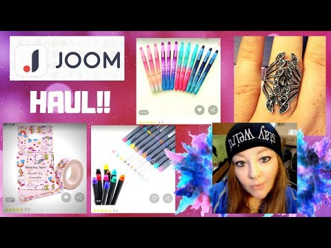 JOOM HAUL #9 - CRAFT SUPPLIES -RINGS-KEY CHAINS-& MORE!! 2018