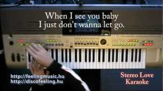 Stereo Love - Karaoke, Lyrics