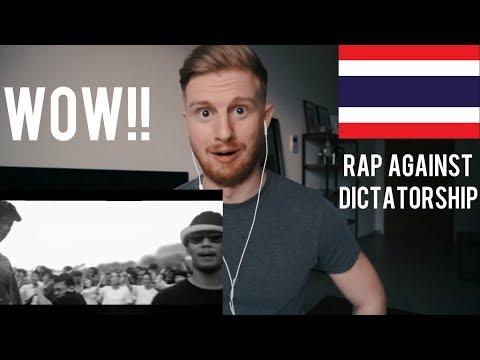 (WOW!!) RAP AGAINST DICTATORSHIP - ประเทศกูมี // THAI RAP REACTION
