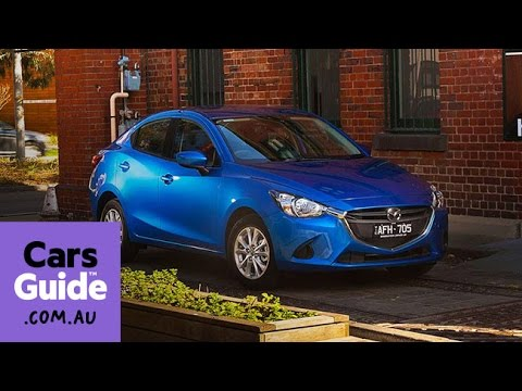 2015 Mazda2 sedan review | first drive