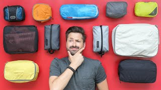 9 Packing Cubes for One Bag Carry-on Travel   Eagle Creek, Peak Design, Gonex, and more
