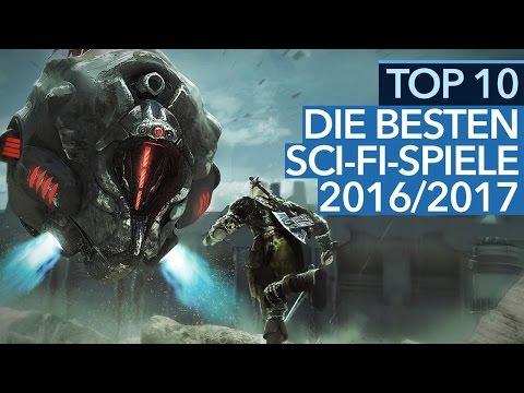 Die 10 besten Sci-Fi-Spiele 2016/2017 - Hits und Hoffnungsträger