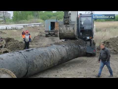 """Ремонт трубопровода """"Водный союз"""""""
