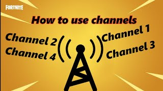 How to use channels in fortnite creative | Creative How To's