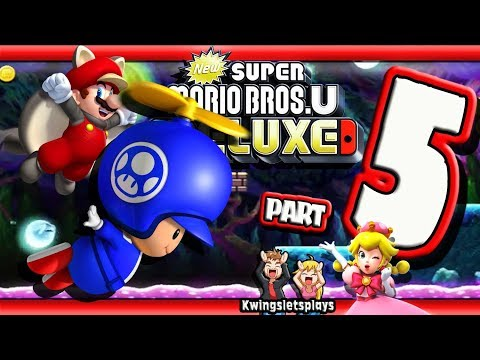 New Super Mario Bros U Deluxe Walkthrough By Kwingsletsplays