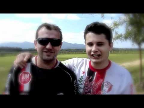 Futebol Solidário. Artilheiros Giovane e Rafael pedem música