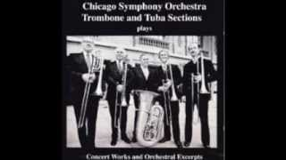 CSO Low Brass Section plays Orchestral Excerpts and Concert Works Full Album (part 1)