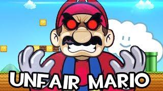 MI PACIENCIA TIENE UN LIMITE | Unfair Mario