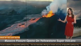Massive Fissure Opens On Yellowstone Super Volcano!