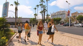 ⁴ᴷ Walking Cannes, France - Cannes Film Festival Red Carpet To Port From Station