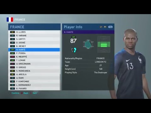 PES 2019 - All 80+ Rated Players - 2N R - PES MOBILE - Video - Free