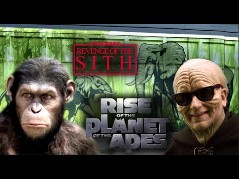 Star Wars: Rise Of The Planet Of The Apes Style.