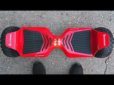HOVERBOARD MADE FOR OFF-ROAD!