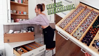 insane kitchen organization + nike haul!!