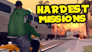 HARDEST MISSIONS IN GTA HISTORY! - Top 5 Hardest Grand Theft Auto Missions!