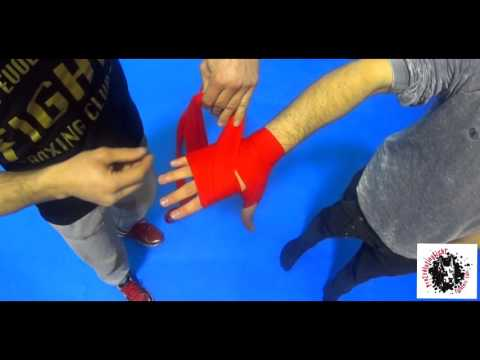 Tutorial 1 - COME METTERE LE BENDE BOXE livello base - Con Max Reppucci