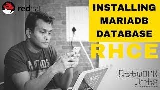 RHCE Training - Understanding MariaDB Database