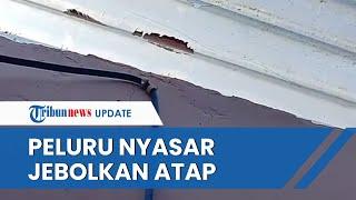 Warga Bandung Temukan Peluru Nyasar saat Cuci Piring, Tak Sangka akibatkan Atap Rumahnya Bolong