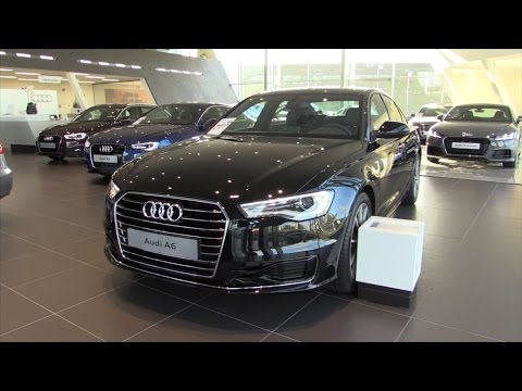In Depth Review Interior Exterior : Audi A6 2016