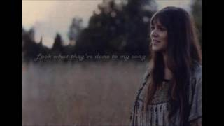 Melanie Safka - Look What They've Done To My Song (Lyrics)