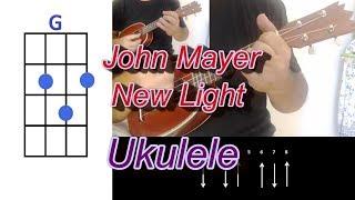 John Mayer New Light Ukulele  Cover