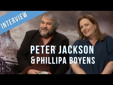 Peter Jackson Interview for MORTAL ENGINES with Phillipa Boyens