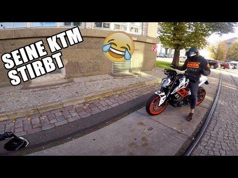 SEINE KTM STARTET NICHT MEHR 😂