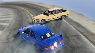 БОЕВАЯ КЛАССИКА ИЗ ГЕРМАНИИ, ПАРНЫЙ ДРИФТ НА ТРЕКЕ ПОКАЗ МАСТЕРСТВА В GTA 5 ONLINE! GTA 5 СЕРВЕРА!