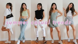 SUMMER 2020 CASUAL FASHION TRENDS 🍉 | Chitchat Style With Me