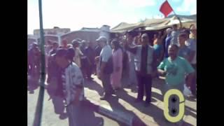 preview picture of video 'احتجاجات أصحاب العربات اليدوية المصادرة من سوق مولاي التهامي بوزان'