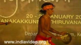 A tribal dance from Dhule district, Maharashtra