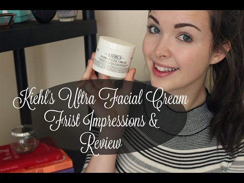 Kiehl's Ultra Facial Cream First Impressions & Review ft.Dazed and Beautiful