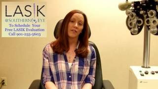 Emily Burnett talks about her LASIK at Southern Eye Experience