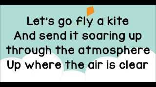 Let's Go Fly a Kite Lyrics from Saving Mr  Banks
