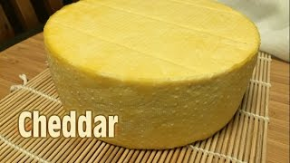 How to make Cheddar Cheese (Cloth Banded) - Video Youtube