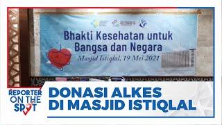 Kompas Gramedia dan KILLCOVID19 Donasikan Alkes dan Al-Quran untuk Masjid Istiqlal