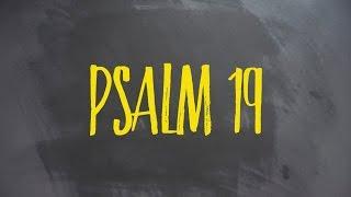 PLASTER MIODU. Psalm 19: Nieoczywista oczywistość