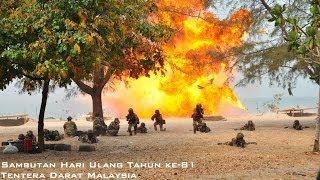 preview picture of video 'Hari Ulang Tahun (HUT) Tentera Darat Malaysia ke-81 2014'